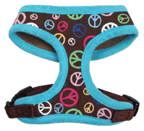 Side Peace Out Pet Harness, Large, Raspberry East Collection
