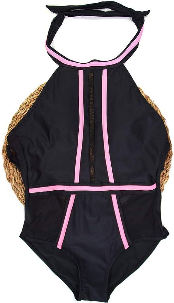 FUBA.VI Two Piece Bikini Swimsuits for Women Sponge Padded Swimwear Bathing Suits