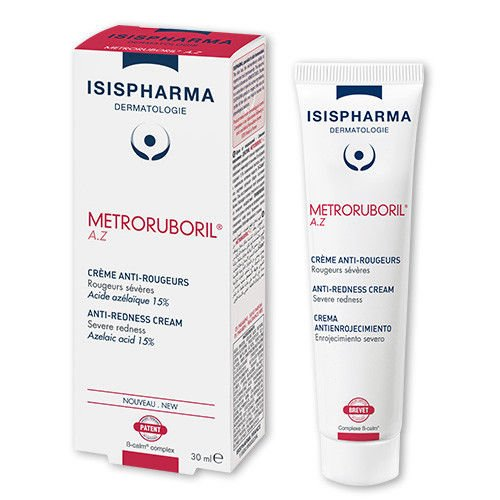 ISIS Pharma Metroruboril A.Z. Anti-Redness & Rosacea Cream 30ml. Severe redness