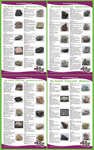 - My Rockin' Collection Rock & Mineral Poster Set