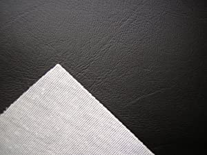 black vinyl faux leather from the fabric barn leatherette upholstery fabric atlanta by the. Black Bedroom Furniture Sets. Home Design Ideas