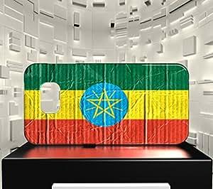 Funda Carcasa para Galaxy S6 Edge Bandera ETIOPÍA 04