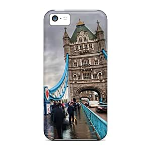PaulScotn Perfect Tpu Case For Iphone 5c/ Anti-scratch Protector Case (london Tower Bridge)