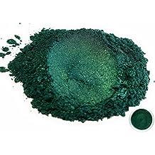 "50gr ""Dark Ocean Green"" Mica Powder Pigments (Resin, Paint, Epoxy, Soaps, Nail Polish, Liquid Wraps)"