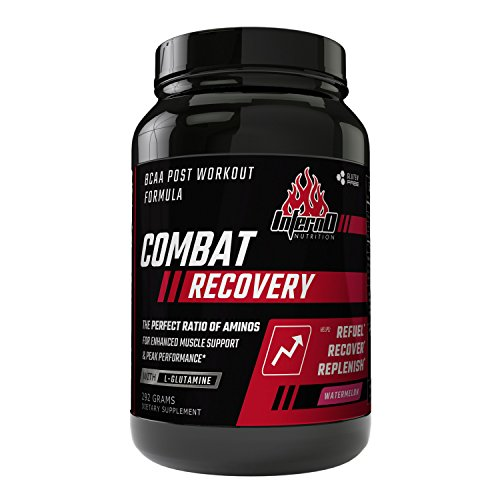 Inferno Nutrition COMBAT RECOVERY Aminos | Post Workout BCAA Powder with Glutamine