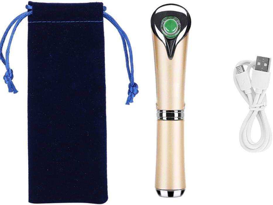 Masajeador Facial por Infrarrojos, Masajeador de Infrarrojos Recargable con Calefacción de 42 °C y Vibración de Alta Frecuencia para Relajar la Cara y los Ojos, Reducción de las Ojeras y Antiarrugas: Amazon.es: