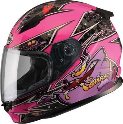 Alien Motorcycle Helmet - 5