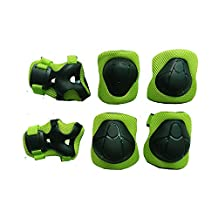 Kids Youth Protective Gear Set Wrist Guard Elbow Pads Knee Pads For Skating Skateboarding Roller Blading Cycling
