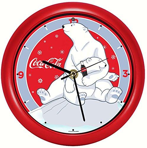 coca cola polar bear clock - 1