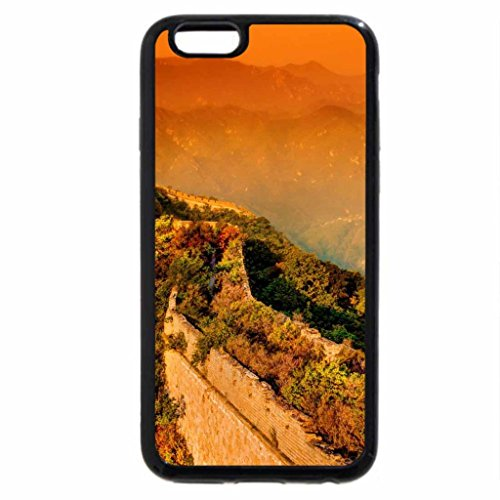 iPhone 6S / iPhone 6 Case (Black) A moody evening at the Great Wall