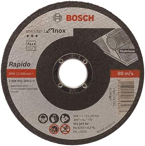 Bosch 2608602383 Rapido Multi Construction Straight Cutting disc