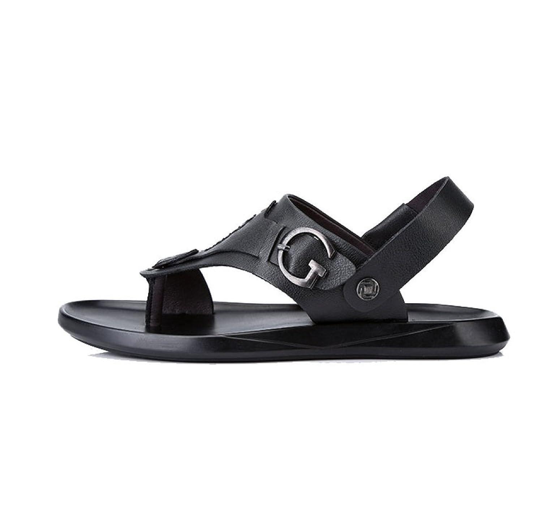 Herren Sandalen Hausschuhe Herrenschuhe Sommer Atmungsaktiv Robust ModeSandalen Hausschuhe Herrenschuhe Atmungsaktiv Black 40