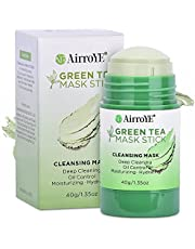 Green Tea Mask Stick - Green Tea Mask - Green Tea Cleansing Mask - Deep Cleaning,Oil Control, Moisturizing and Hydrating,Effective For All Skin Types