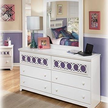 Amazoncom White Dresser Signature Design by Ashley Furniture