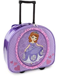 Disney Store Sofia the First Rolling Luggage/Carry-On Suitcase/Overnight Bag