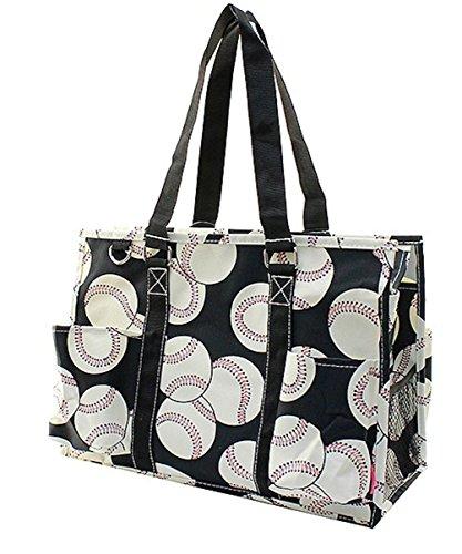 Feather Bag (N Gil All Purpose Organizer Medium Utility Tote Bag (Baseball))