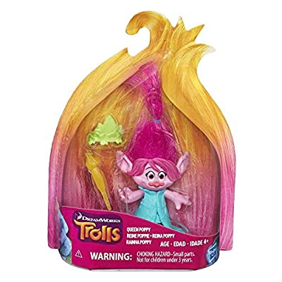 DREAMWORKS TROLLS Queen Poppy Collectible Figure: Toys & Games