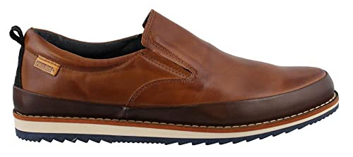 Pikolinos M5a-3105 Biarritz - Mocasines de Piel Lisa para hombre, color marrón, talla 39: Amazon.es: Zapatos y complementos