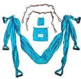 Boundless Athletics Yoga Hammock Swing/Sling/Inversion Tool (Aqua)