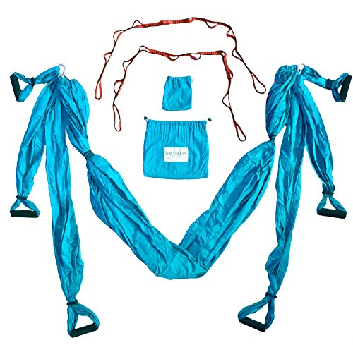 Boundless Athletics Yoga Hammock Swing/Sling/Inversion Tool (Aqua) Review