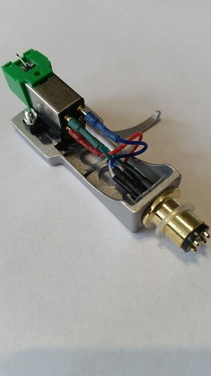 Audio Technica AT91 láser + plateado Headshell para HiFi ...