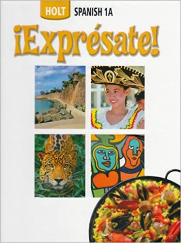 Amazon expresate spanish student edition level 1a exprsate expresate spanish student edition level 1a exprsate fandeluxe Choice Image