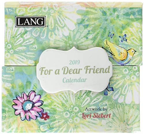 The LANG Companies for A Dear Friend 2019 365 Daily Thoughts (19991015502) (Calendar Friends)