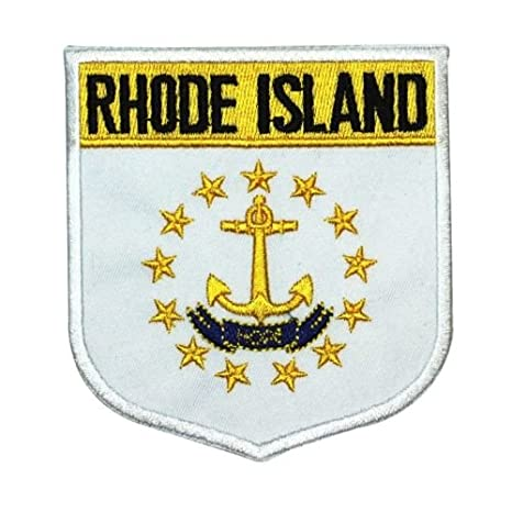Parche con diseño de bandera del Estado ,Rhode Island ...