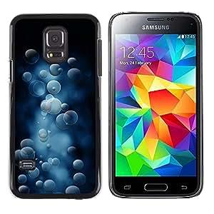 LECELL -- Funda protectora / Cubierta / Piel For Samsung Galaxy S5 Mini, SM-G800, NOT S5 REGULAR! -- Bubble Pattern --