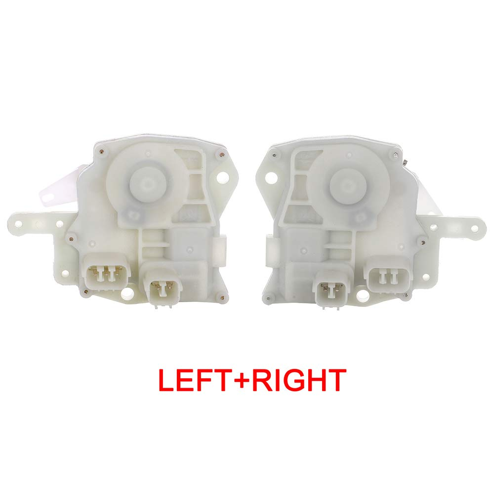 Front//Rear Right Door Lock Actuators Door Latch Replacement Fits for 2001-2003 Acura CL TL 1998-2009 Honda Accord Civic CR-V Fit Insight Odyssey S2000 746-362 746-361 8D1344 DLA267 Front//Rear Left