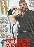 W Magazine December 2007 George Clooney & Renee Zellweger