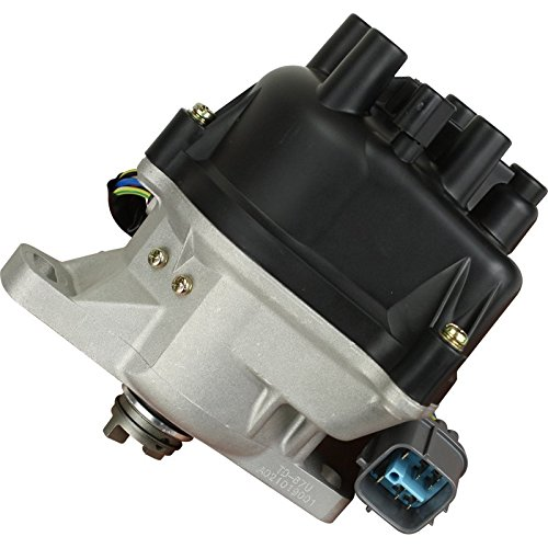 y Duty Stock Series Complete Electronic Ignition Distributor Compatible Replacement For 1996-2001 Honda Acura B16A B16A2 B18C DOHC VTEC OBD2 Oem Fit DTD87-SS ()