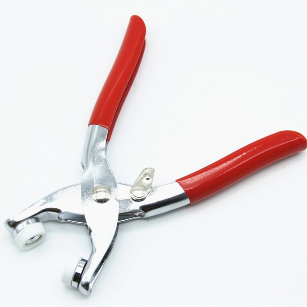 BESTOMZ 9.5mm Prong Ring Snap Fasteners Plier Press Studs Poppers Plier Craft Tool