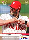 2019 Topps NOW #ST-3 Bryce Harper Signs Record Breaking Contract with Philadelphia Phillies! FIRST EVER Bryce Harper Phillies Card in Mint Condition! Shipped in Ultra Pro Toploader! WOWZZER!