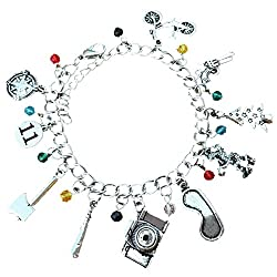 Stranger Things 10 Charms Lobster Clasp Bracelet in Gift...
