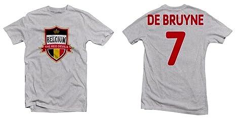new concept 627d1 da61f Belgium The Red Devils Hero Tee: Kevin De Bruyne Printed Tee