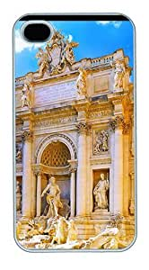 Joe A. Esquivel's Shop Discount iPhone 4S Cases and Covers,Trevi Fountain Custom Slim Hard Case Snap-on PC Plastic Case Cover Shell for Apple iPhone 4S/4 White 5249745M81264699