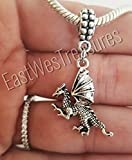 EWT targaryen dragon sword Game of thrones Charm Pendant for all brand charm bracelets and any chain necklace