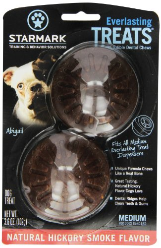 Everlasting Treat For Dogs, Natural Hickory Smoke, Medium