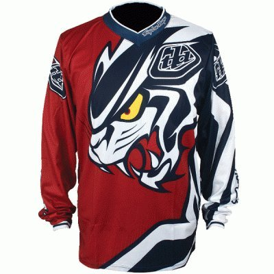 Troy Lee Designs Red GP Predator MX Jersey Youth XL by Troy Lee Designs