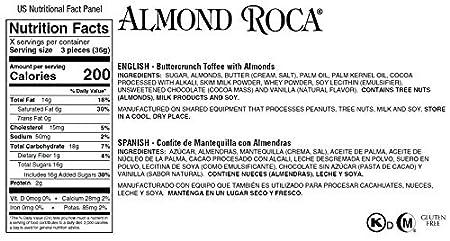 Amazon.com : 11.3 oz ALMOND ROCA BUTTERCRUNCH Tree Tin : Grocery & Gourmet Food