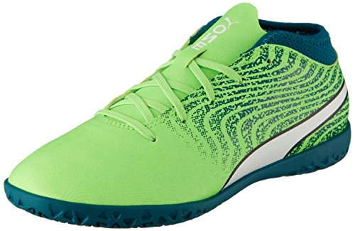 Puma 18 De It One Lagoon green Enfant 4 Football White Jr Mixte Gecko Chaussures puma Vert deep frqf5w