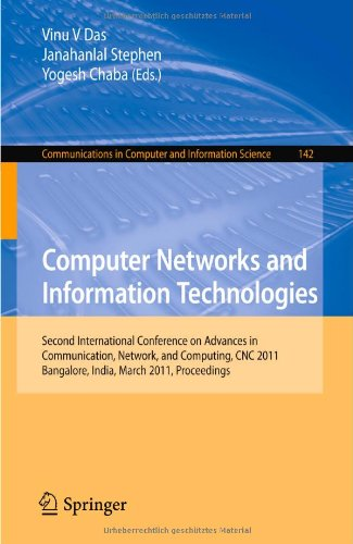 [PDF] Computer Networks and Information Technologies Free Download   Publisher : Springer   Category : Computers & Internet   ISBN 10 : 3642195415   ISBN 13 : 9783642195419
