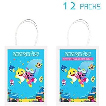 Amazon.com: Bonitas bolsas de tiburón para fiestas de ...