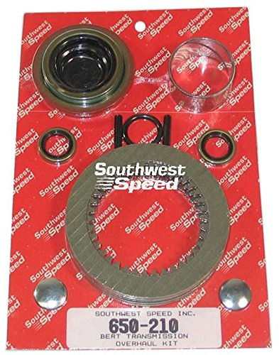 - NEW SMALL OVERHAUL REBUILD KIT FOR BERT ALUMINUM AND MAGNESIUM TRANSMISSIONS FOR MODIFIED, LATE MODEL, AND STREET STOCK RACING, 91, TRANNY, IMCA, UMP, USMTS, ETC, CLUTCH DISC PACK, TAILHOUSING BUSHING AND REAR SEAL, INPUT SHAFT OIL SEAL, SHIFTING FORKS RETAINING PINS, SHIFTING ARM SEALS, MAIN CASE SHIFTING ROD PLUGS, HYDRAULIC CLUTCH CUP, FRONT COUNTER SHAFT O-RINGS