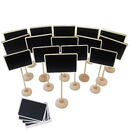 Amazon.com : Mini Chalkboard, 15 Pcs Mini Chalkboards with ...