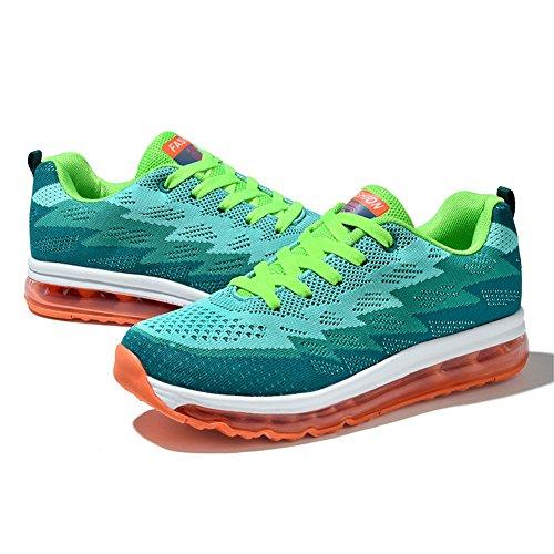 de course Air vert chaussures Chaussures anti de tricot course fitness dérapantes en pour Unisexe Convient des jogging absorption Sports chocs Haut le d0tw0q