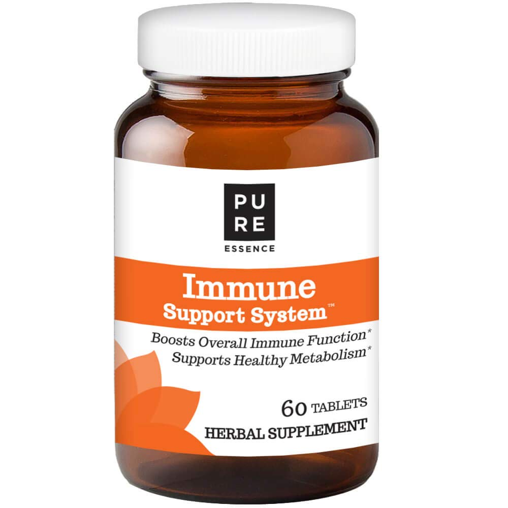 Pure Essence Labs Immune Cellular Support System – With Maitake – Colostrum – Fucoidan And More – 60 Tablets