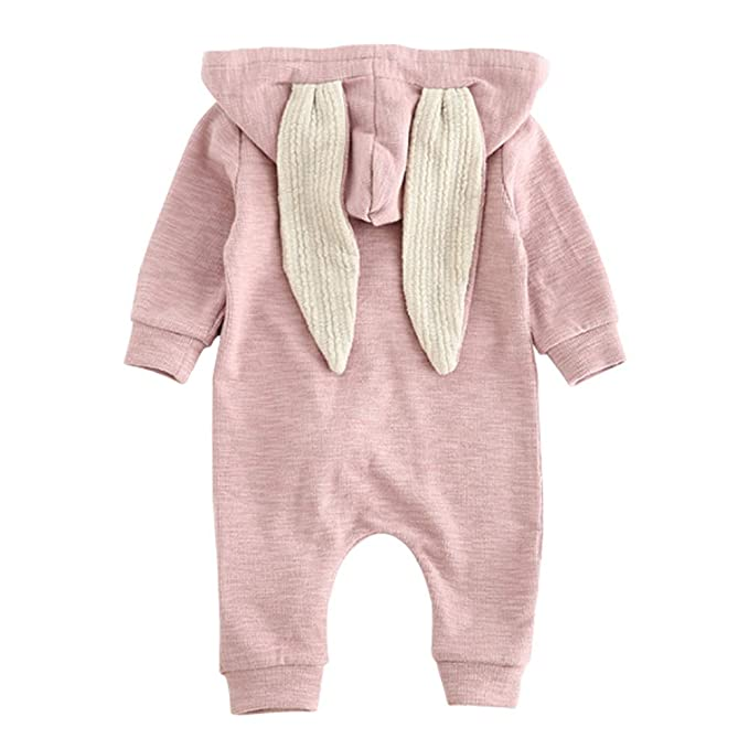 65b9c0ef7 Amazon.com  Ding-dong Baby Boys Girls Rabbit Romper  Clothing