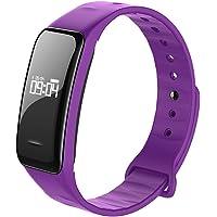 Fitness tracker, moniteur de fréquence cardiaque tracker, sang oxygène pression moniteur de fréquence cardiaque podomètre Smart Watch Band Bracelet
